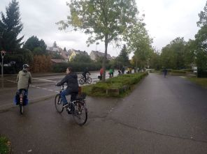 Verkehrspolitische Radtour Hessental